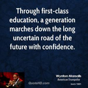 Wynton Marsalis Education Quotes