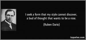 More Ruben Dario Quotes