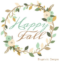 Happy Fall- Autumn Quotes - Free Blog Button