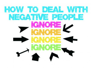 with negative people in their life some people live with negative ...