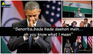 "Senorita..bade bade deshon mein…ah you know what I mean"""