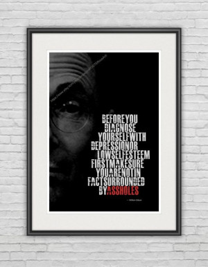 William Gibson Famous Quote... / A3 Poster / by prePOSTERousArt, $19 ...