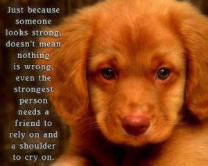 Just because someone looks strong ...