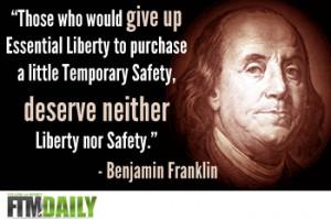BEN FRANKLIN DEMOCRACY