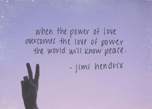 Monday Quote: The Power Of Love