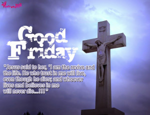 Good Friday Quotes And Sayings...