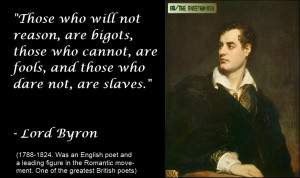 Lord Byron Quotes Byron
