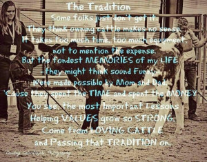 may not show cattle, but being a dairy farmer teaches this same ...