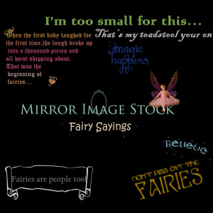 Fairy Sayings Brushes by mirrorimagestock