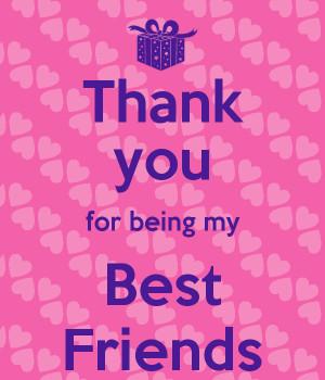 thank you best friend