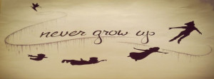And Cute Disney Peter Pan Forever Facebook Covers