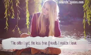 So true! Goodbye fake friends, hello deep and meaningful friends that ...