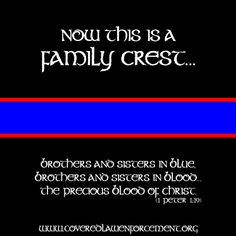 , Families Blue, Police Wife, Inspiration Boards, Families Crest, Law ...