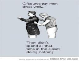 Gay Men In The Closet Funny Cute Comic Drawing Nice Picture