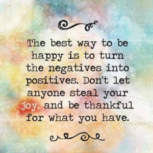 Negative to positive