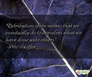 Retribution Quotes