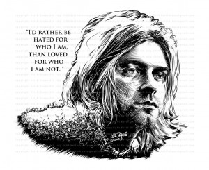 Kurt Cobain Wallpaper Quotes Kurt cobain qu.