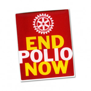 raise awareness of polio eradication raise money for polio raise