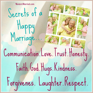 Happy Relationship Quotes Cool Secrets To A Happy Marriage Wallpaper