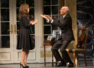 Norman (Larry David) has a spirited discussion with his housekeeper ...