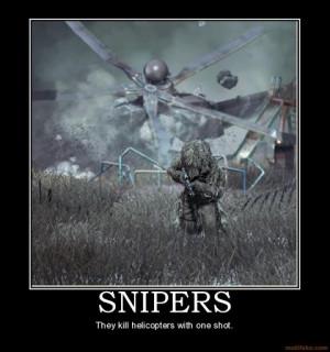 SniperSpecops Snipers S, Snipers Spott