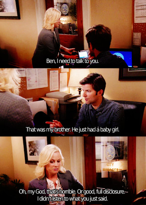 ... tagged as parks and recreation season four 401 i m leslie knope leslie