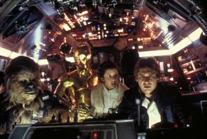 Star Wars Han Solo, Princess Leia, Chewbacca, C-3PO