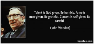 God-Given Talent quote #2