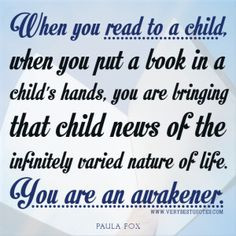 early+education+quotes | ... quotes, Reading to a child quotes, early ...