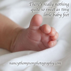 ... quite so sweet as tiny little baby feet http://scraplesspress.com