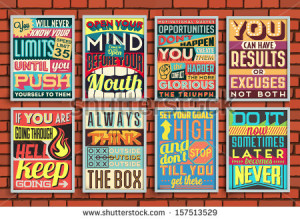 ... Quotes with Calligraphic and Typographic Elements - stock vector