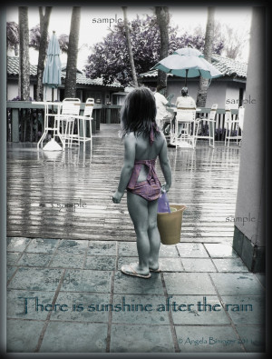 Quotes About Rain And Rainbow: There Is Sunshine After The Rain Quote ...