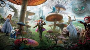 Alicia en el país de las Maravillas HD verde marron infantil fantasia ...
