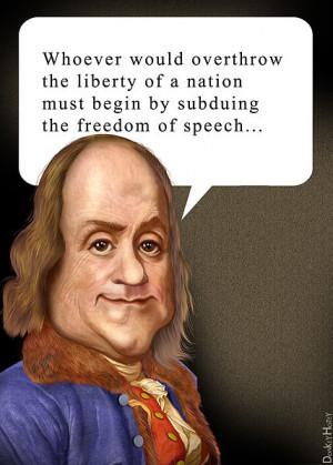 Description Benjamin Franklin freedom of speech quote.jpg