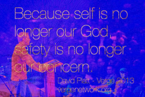 Verge 2013 David Platt Radical Quote Photograph
