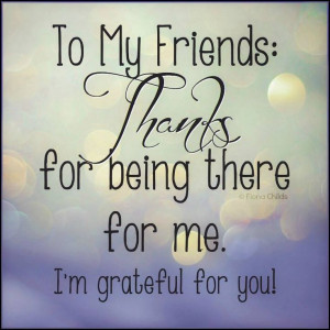 Grateful #friendship