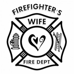 Firefighter's Wife Photo Sculpture