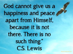 God's peace quote