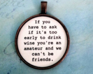Funny Wine Sayings Key Chains Girlf riend Gift Shower Gift Bridesmaid ...