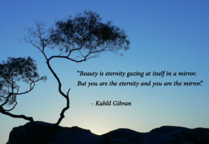 Extract from Beauty , from the Prophet