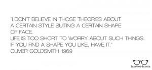 Oliver Goldsmith quote