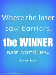 ... hurdles robert brault more motivation barrier diet motivation quotes