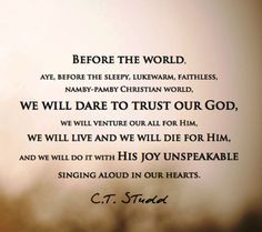 Missionary Quotes Ct Studd ~ Missionary Quotes « Message Ministries ...