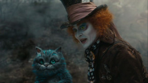 Mad Hatter (Johnny Depp) Alice in Wonderland Screencaps