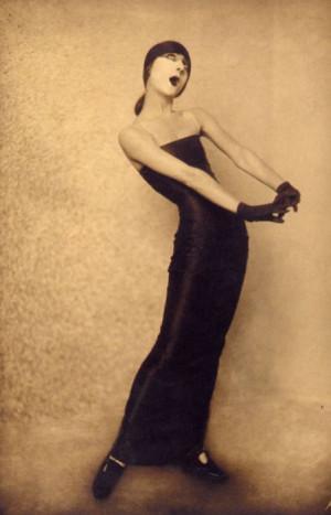 German Cabaret girl, 1930's