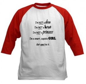 smart girl t shirt t shirt reads i m not a diva i m not a brat i m not