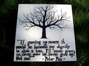 grow up peter pan quotes never grow up original jpg peter pan ...