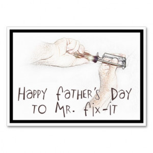 Happy Fathers Day to the Handyman! Business Cards