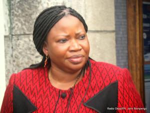 Fatou Bensouda procureure de la cour p nale international le 12 03