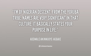 Yoruba Quotes